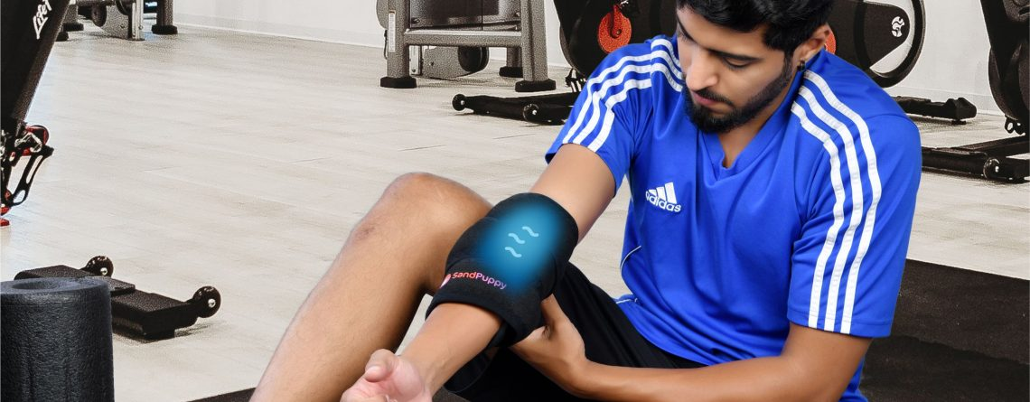 cool gel pad for injury relief
